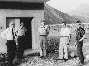 Ken Bowles (middle) in Jicamarca.
