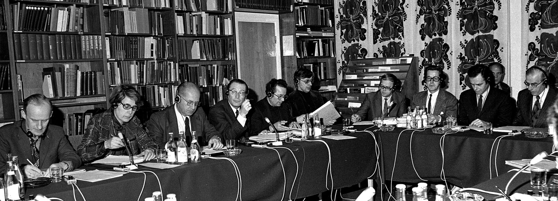 The first Council meeting held in Kiruna in 1976